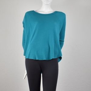 We the Free Teal Dolman Thermal Small